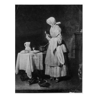 The Attentive Nurse, c.1738 Postcard