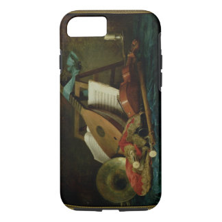 The Attributes of Music, 1770 (oil on canvas) iPhone 7 Case