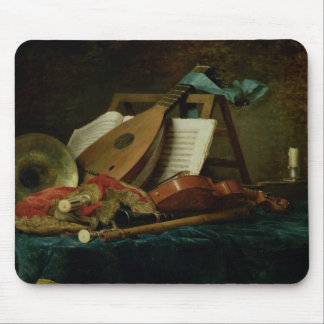 The Attributes of Music, 1770 (oil on canvas) Mouse Pad
