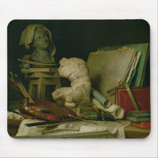 The Attributes of the Arts, 1769 (oil on canvas) Mouse Pad