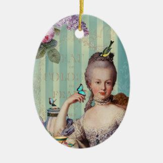 Thé au Petit Trianon Christmas Ornament