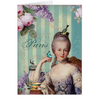 Thé au Petit Trianon - Happy Birthday Cards