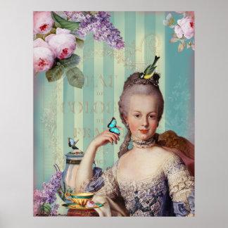 Thé au Petit Trianon Posters