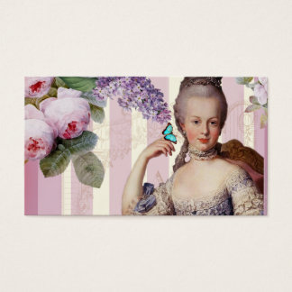 Thé au Petit Trianon – rose Business Card