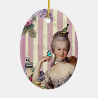 Thé au Petit Trianon – rose Christmas Ornament