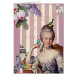 Thé au Petit Trianon – rose Happy Birthday Greeting Card