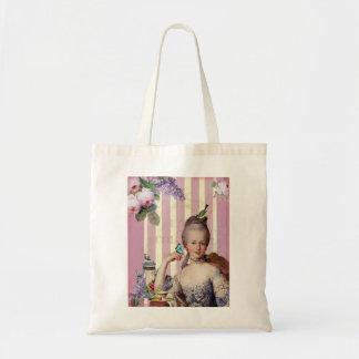 Thé au Petit Trianon – rose Budget Tote Bag
