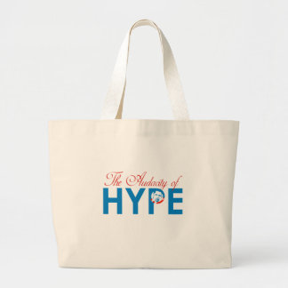 THE AUDACITY OF HYPE CANVAS BAGS