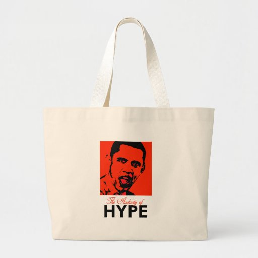 THE AUDACITY OF HYPE TOTE BAG