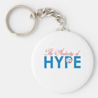THE AUDACITY OF HYPE KEYCHAIN