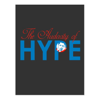 THE AUDACITY OF HYPE POSTCARD