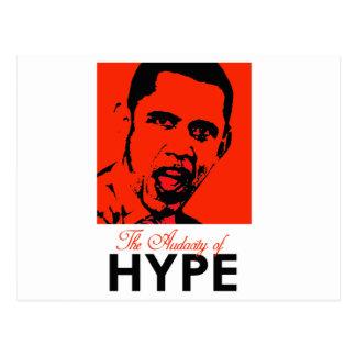 THE AUDACITY OF HYPE POSTCARD