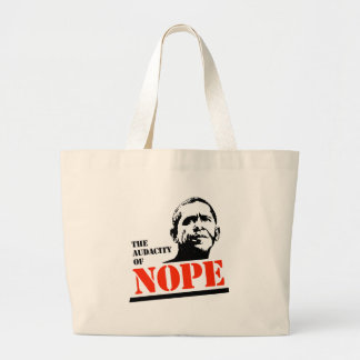 THE AUDACITY OF NOPE TOTE BAGS