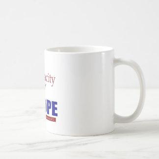 The Audacity of NOPE! Basic White Mug