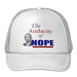 The Audacity of NOPE! Cap