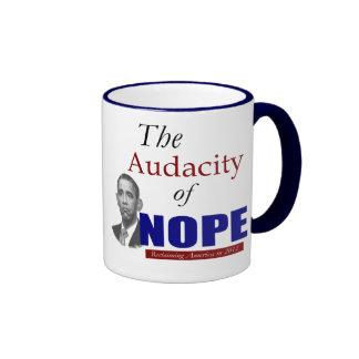 The Audacity of NOPE! Ringer Mug