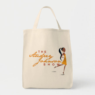 The Audrey Johnson Show Tote Grocery Tote Bag