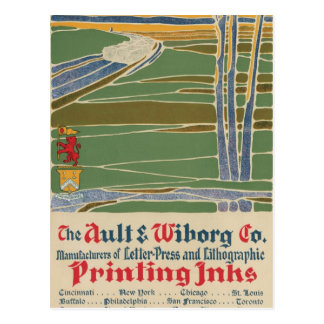 The Ault & Wiborg Co. No. 7 Post Cards