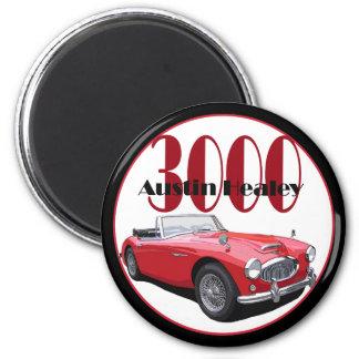 The Austin Healey 3000 Magnet