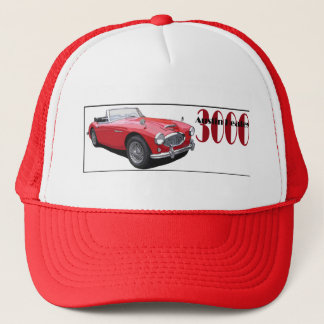 The Austin Healey 3000 Trucker Hat