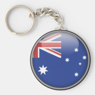 The Australian Flag Key Chain