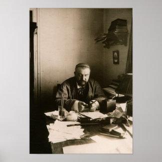 The author Alexander Ivanovich Kuprin Poster