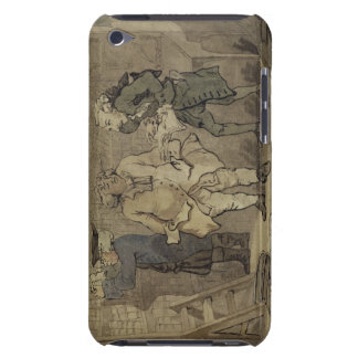 The Author and his Publisher, 1784 (grey wash and iPod Touch Case-Mate Case