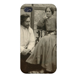 The author Leonid Andreyev with his wife iPhone 4/4S Case
