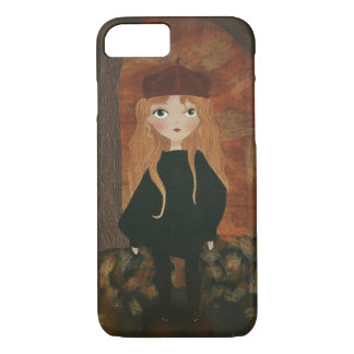 """The Autumn Girl"" iPhone Puts iPhone 8/7 Case"