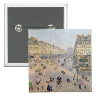 The Avenue de L'Opera, Paris 15 Cm Square Badge