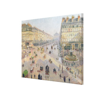 The Avenue de L'Opera, Paris Canvas Print