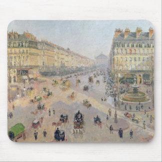 The Avenue de L'Opera, Paris Mouse Pad