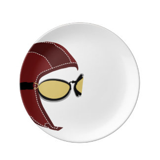 The Aviator Vintage Plate