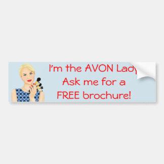 The Avon Lady, Beauty Model Bumper Sticker
