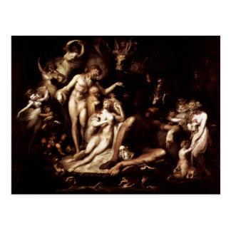 The Awakening Of The Fairy Queen Titania By Füssli Postcard