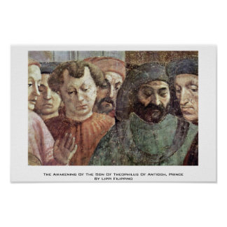 The Awakening Of The Son Of Theophilus Of Antioch Poster