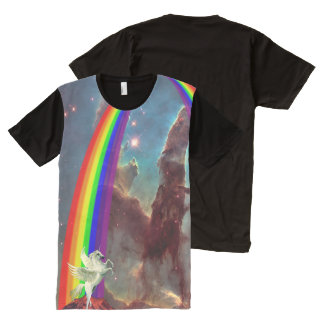 The Awesomest Unicorn All-Over Print T-Shirt