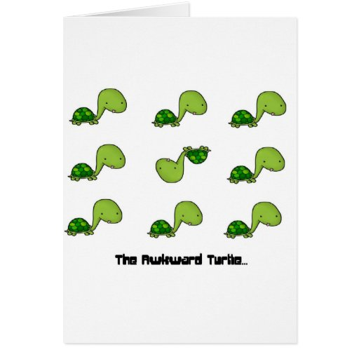 The Awkward Turtle Cards