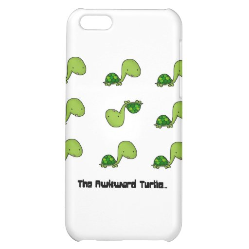 The Awkward Turtle Cover For iPhone 5C