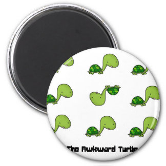 The Awkward Turtle Magnet