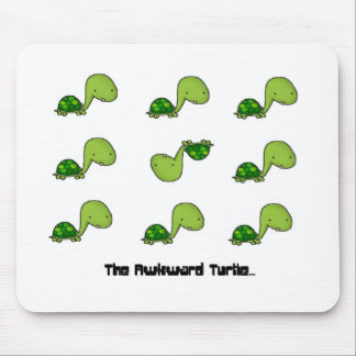 The Awkward Turtle Mouse Pad