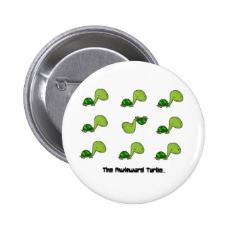 The Awkward Turtle Pins