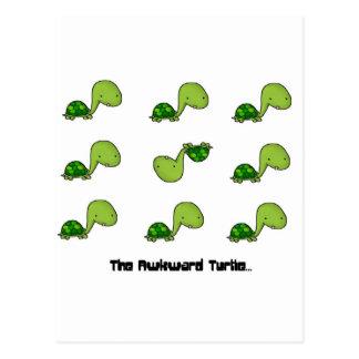 The Awkward Turtle Postcard