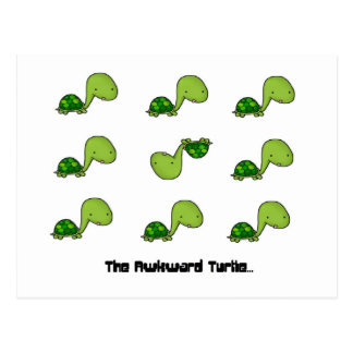 The Awkward Turtle Postcards