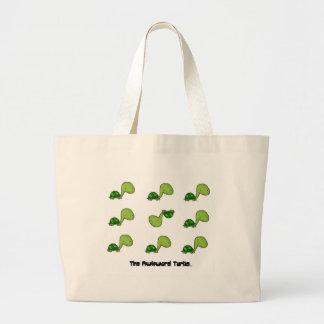 The Awkward Turtle Jumbo Tote Bag
