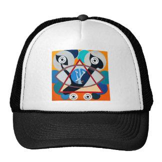 The Ayn Letter - Hebrew aphabet Trucker Hats