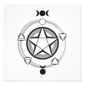 The Azodnem Pentacle Invitations