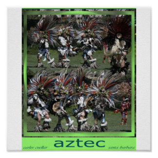 the aztec posters