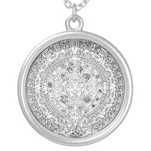 Calendar Extender Design : The aztec sun calendar circular stone design personalized