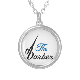 THE BABRBER ROUND PENDANT NECKLACE